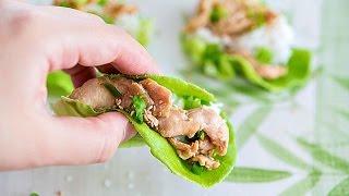 Chicken Bulgogi Lettuce Wraps Recipe - Super Quick Dinner