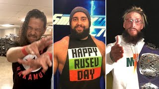 Enzo Amore, Rusev and Shinsuke Nakamura consider who might be their Mixed Match Challenge partners