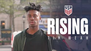 RISING: Tim Weah