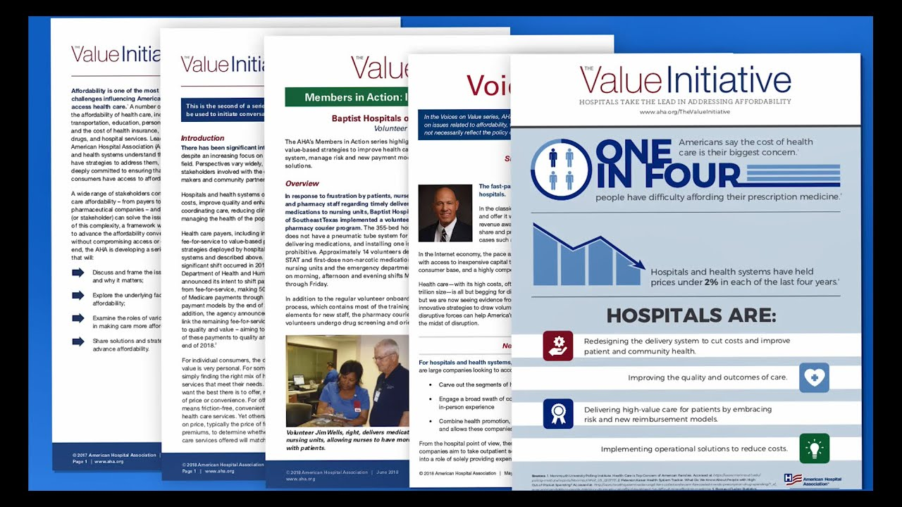 The Value Initiative: Framing the Issue of Affordability & Value of ...