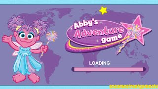Sesame Street Abby's Adventure Game Letters Entertainment