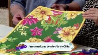 Jogo Americano em Chita – Claudete Messias