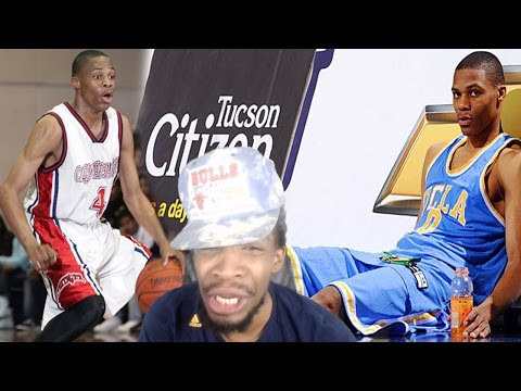 DUNKING ON EVERYBODY! RUSSELL WESTBROOK HIGH SCHOOL & UCLA HIGHLIGHTS REACTION!