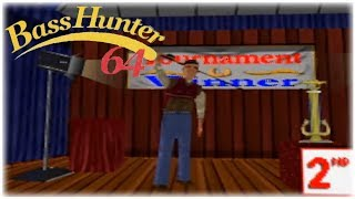 In-Fisherman Bass Hunter 64 Nintendo 64 Gameplay Walkthrough Part 13 -  Tournament 10 Day 1!