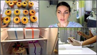 VLOG: Рабочий день / Сладкие коробочки / Торт для Учительницы / Мама Вика