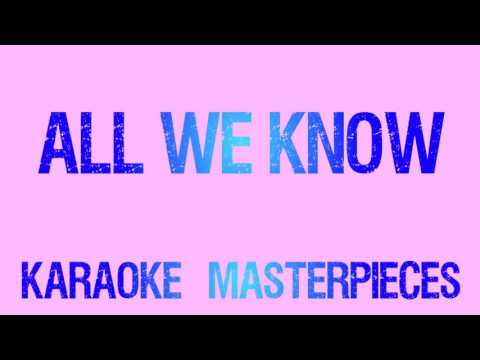 All We Know (Originally by The Chainsmokers & Phoebe Ryan) [Instrumental Karaoke] COVER