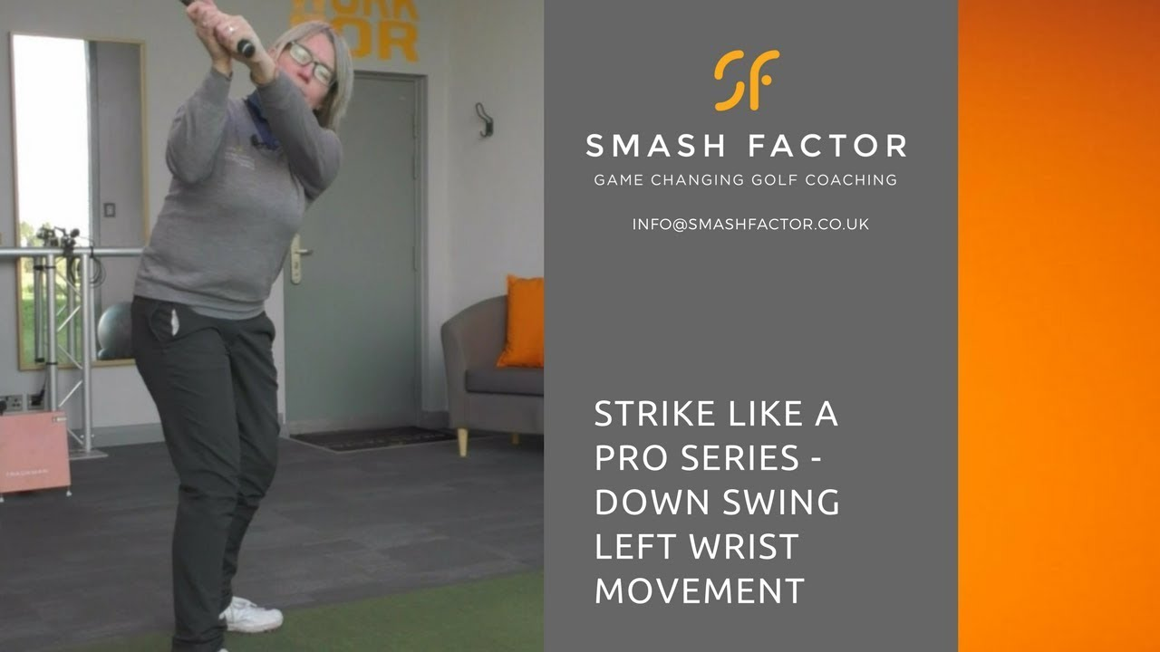Learn this left wrist move to strike golf balls like a golf professional