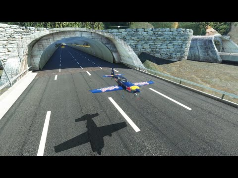 You Can Now Fly a Plane Through the Çatalca Tunnels in Microsoft Flight Simulator as Well