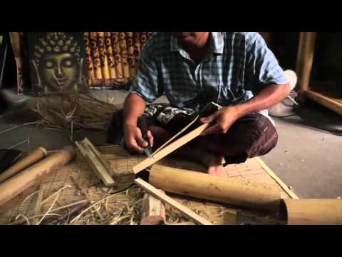 How to make a bamboo serving tray