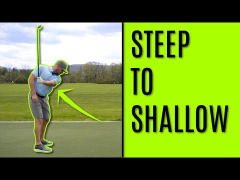 GOLF: Two Simple Feels To Shallow Your Downswing
