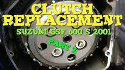 Replace Clutchplates Suzuki GSF 600 Bandit 2001 2/2