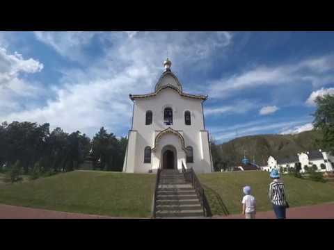 Парк при Успенском Монастыре под Красноярском в 2019 году. Фестиваль Сибирский Первоцвет