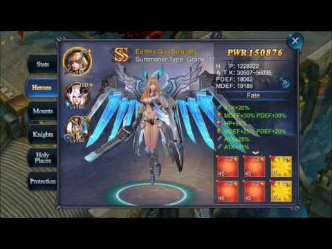 Goddess: Primal Chaos sea28 TOP Warrior&Summoner [HD]