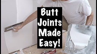 HOW TO COAT BUTT JOINTS (hawk and trowel 4)