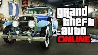 GTA ONLINE - РЕТРО ТАЧКА ЗА 1000000$ #242