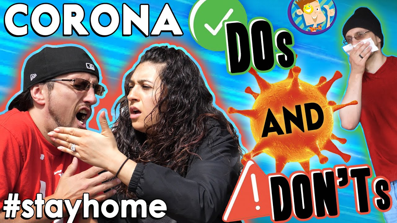 Corona Virus Do's & Don'ts! #StayHome (FV Family Fun Facts Fundraiser to Laugh #withme)