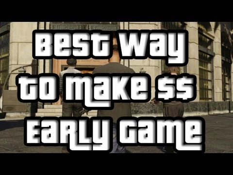 GTA V BEST WAY TO MAKE MONEY EARLY GAME (GTA5) Using Stocks