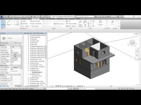 Revit full building project design - tutorial 2 (in greek) - topography