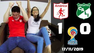 America de Cali 1 vs Deportivo Cali 0 | Reacciones | Liga Aguila 2019 II Cuadrangulares