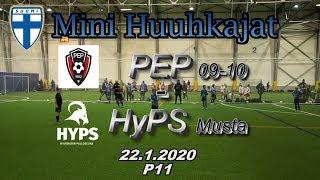 Mini Huuhkajat P11 PEP P09/10 vs HyPS Musta 22.1.2020