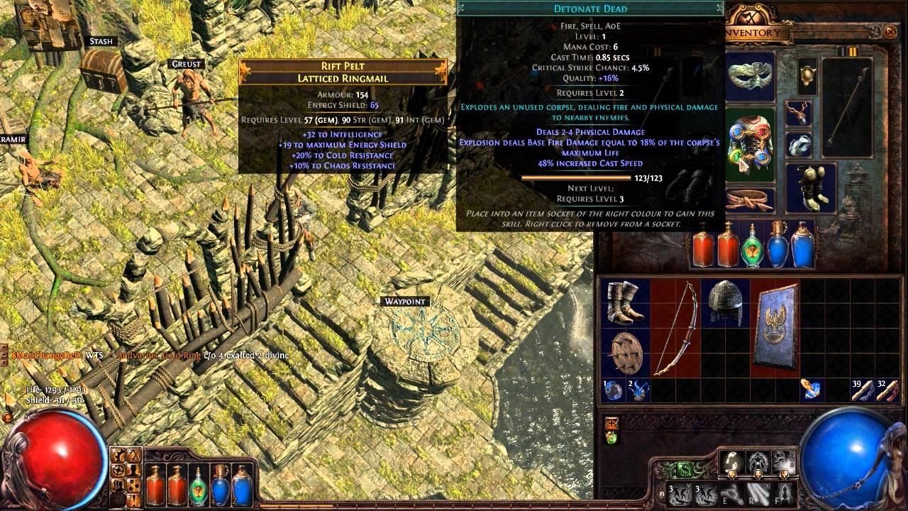 Path Of Exile Detonate Dead Build