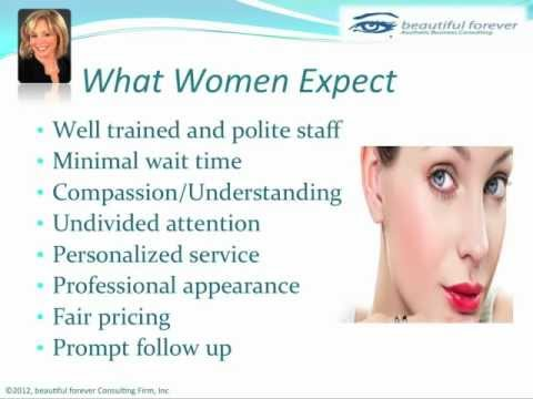 Aesthetic Business - What Women Want Part 3 - What Women Expect