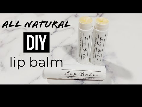 All Natural Lip Balm | Recipe Included