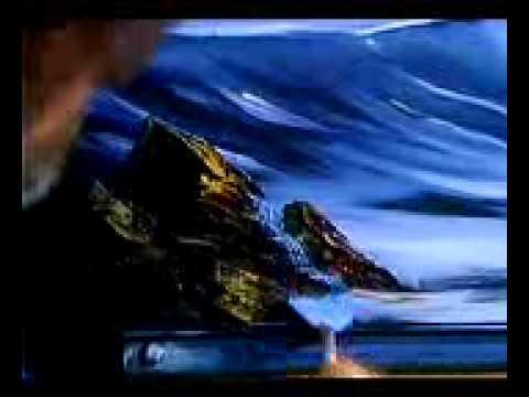 bob-ross---malerei-einsamen-strand---malerei-video
