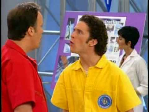 Screech and Mr. Belding have a lover's quarrel
