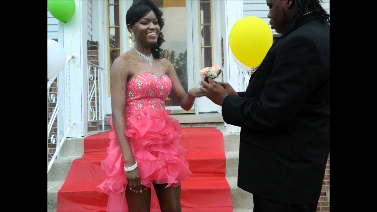 Jasmine & Marquase send-off 2012 Prom - YouTube