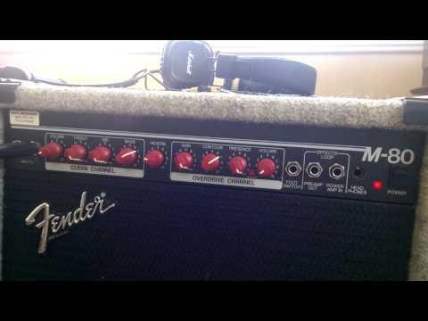 Fender M80 Clean