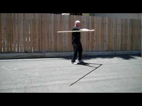Luk Dim Boon Kwun - Pole Form - Pan Nam Wing Chun