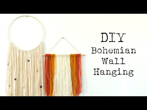 DIY Boho Wall Hanging