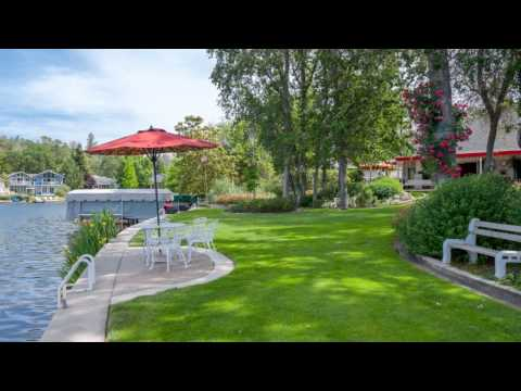 SINGLE STORY WATERFRONT HOMES FOR SALE in LAKE WILDWOOD PENN VALLEY GOLD COUNTRY REAL ESTATE