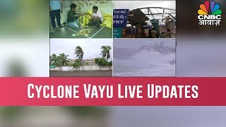 Cyclone Vayu LIVE updates: Storm deviates; heavy rain, strong winds still expected