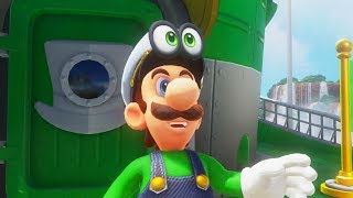 Playable Luigi in Super Mario Odyssey [Super Luigi Odyssey]
