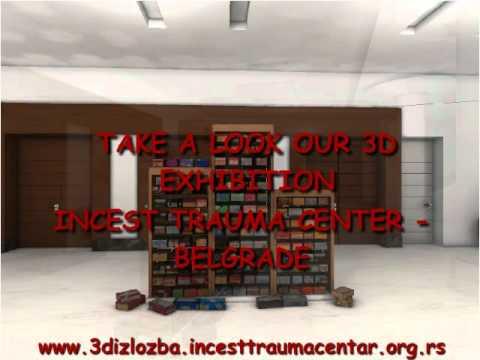 3D Exhibition Of The Incest Trauma Center Belgrade Violence Against Children Through History