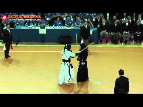 Kendo「剣道」- 15th WKC Men Team Final - 4th Shiai (Japan vs Korea) [VID:20120527007]