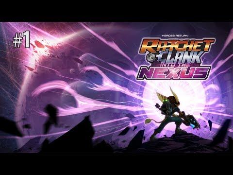 Twitch Livestream | Ratchet & Clank: Into the Nexus Part 1 [PS3]