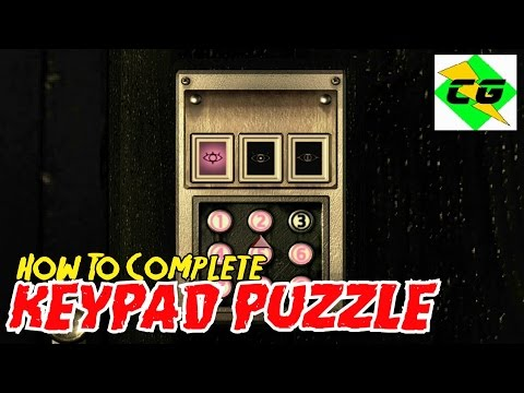 Resident Evil HD (Remastered) - Residence Secret Room (Keypad Puzzle) Pool Table & Oil Lamps