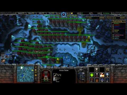 WarCraft 3 Farmer Vs Hunter #409 Farmer