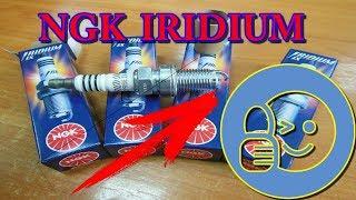 Cвечи автомобильные зажигания из иридия от NGK IRIDIUM BCPR6EIX-11. Оригинал или копия?!
