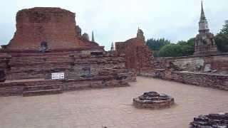 2011.8.20 アユタヤのワットマハタート その2 Ayutthaya Wat Mahathat