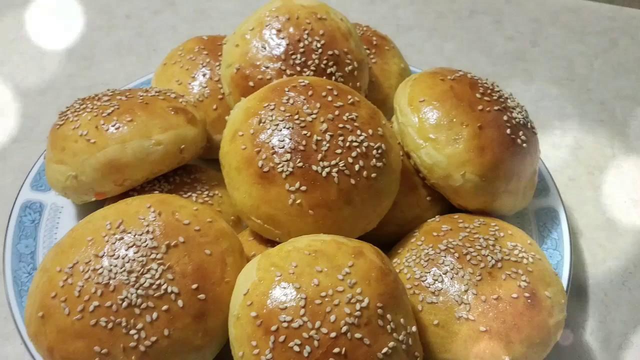 خبز البطاطا الحلوة الخاص بالبورجر Burger Sweet Potato Buns Youtube