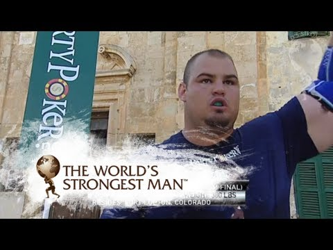 Fingals Fingers: Terry Hollands vs Brian Shaw  | World's Strongest Man