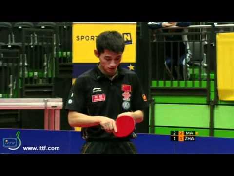 Pro Tour Austria Open. FINAL: MA Long CHN vs ZHANG Jike