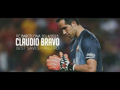 Claudio Bravo - FC Barcelona - Best Saves/Record - HD.