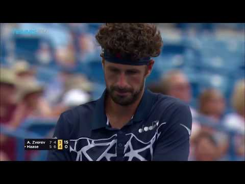 Highlights: Haase Stuns Zverev In Cincinnati 2018