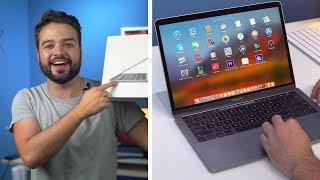 esse MACBOOK vai me impressionar?! | Macbook Pro 13 Touchbar - Unboxing