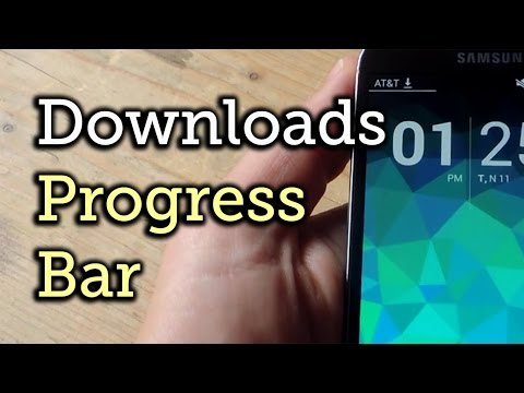 View Download Progress from Your Android's Status Bar [How-To]
